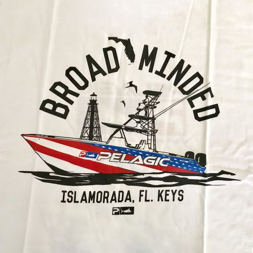 Broad Minded Boat Tee Shirt